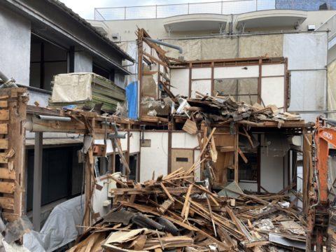 中野区 木造アパート2棟 56坪 施工実績